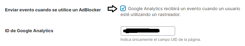 Eventos Google Analytics AdBlockers con 7 Theme